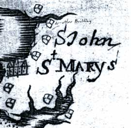 early St. John's map