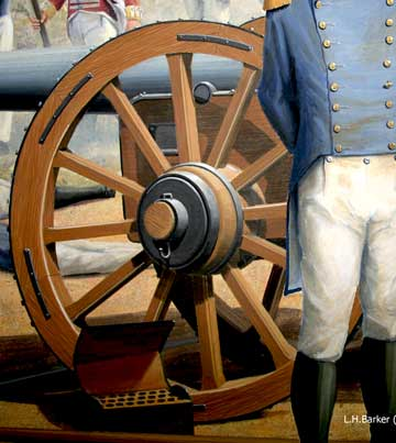 18# cannon, Battle of Bladensburg
