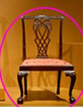 Chippendale chair design