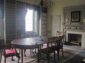 Restored Magruder dining room as it exists today