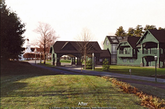 """After"",   Sagamore Hotel and Resort, Bolton Landing, NY Suite of 2. L.H.Barker (c) 2000. All rights reserved."