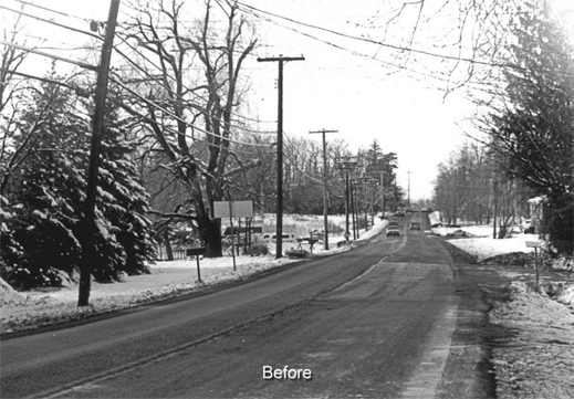 """Before"",   Washington Avenue Extension, North Greenbush, NY Suite of 5. L.H.Barker (c) 1991. All rights reserved."